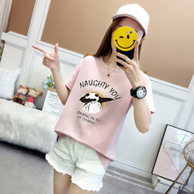 New style of loose short sleeved women insyang pure cotton t-shirt, super-heated women CEC 100 sets of Korean-style shirts on clothes