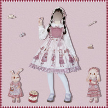 Watch Photo Subsidy Page * Roadside Picnic * Original Lolita Rabbit Sweet Wind JSK Dress