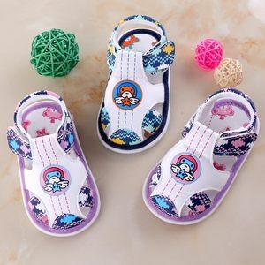小宝宝<span class=H>凉鞋</span>男夏季1-2-3岁女婴儿学步<span class=H>凉鞋</span>软底透气防滑小童叫叫鞋
