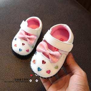 高档正品牌春夏新生婴儿软底单鞋0-1岁6-8-9-10-11-12个7月女宝宝
