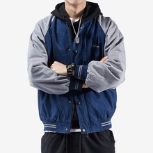 Men's Outerwear Spring and Autumn 2018 New Korean Version Coloured Fashion, Handsome Air Baseball Clothes, Spring Wear and Leisure Men's Jacket