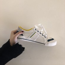 Huang Luolin Spring Shoes 2019 Small White Shoe Board Shoes Female Student Korean version of ulzzaang Fashion Hundred Sets of Basic Canvas Shoes