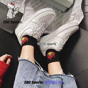 【EDC sports】Nike Air Force 1 <span class=H>AF1</span>纯<span class=H>白</span>空军一号男女315122-111