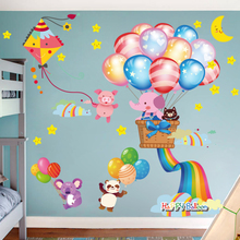 Wallpapers in Children's Rooms, Wallpapers in Children's Rooms, Bedrooms, Wallpapers, Self-adhesive, Warm and Removable Cartoon Wallpapers for Room Decoration