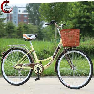 休闲女单二手自行车女户外学生小巧轻便女孩加长新型女士冬季秋冬