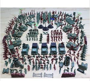 二戰軍事小<span class=H>兵人</span>軍人<span class=H>模型</span>套裝 打仗沙盤<span class=H>玩具</span>兵團塑料軍隊士兵小人