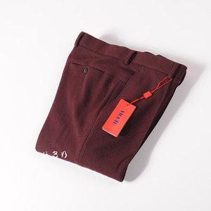 <span class=H>威可多</span>专柜正品 秋冬加厚纯色混纺修身<span class=H>西裤</span>保暖时尚长裤男裤