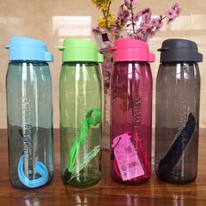 特百惠乐活随手杯750ml塑料便携水杯子运动<span class=H>水壶</span>防漏学生随手茶杯