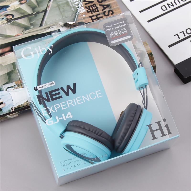 Yang Gjby GJ14 Pakai Jenis Olahraga Menjalankan Headphone Mengambil Gandum untuk Melipat Converse Permainan Headphone-Internasional