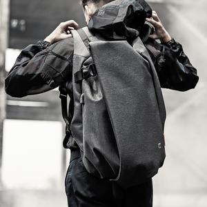 双肩包男士时尚潮流<span class=H>背包</span>韩版个性书包男大学生运动休闲电脑旅行包