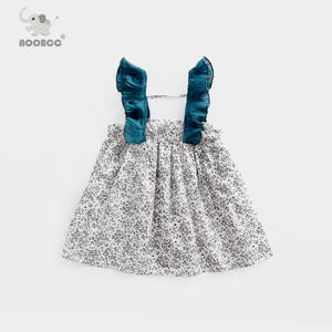 女童<span class=H>吊带</span>裙夏装新款1-3岁儿童背带裙夏季婴儿夏天时尚潮宝宝<span class=H>裙子</span>