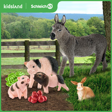Schleich Siler Animal Model Toy Farm Animal Pets Static Simulated Display Children Piglet Sheep