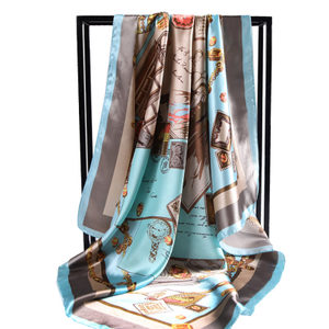 夏季防晒韩版超大方巾雪纺包包女士春秋冬季百搭百变小丝巾头巾