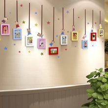 5-inch 7-inch Photo Wall Photo Frame Creative Wall-hanging Combination Personality Photo Wall Decoration Simple Children's Room Photo Frame Wall Paste