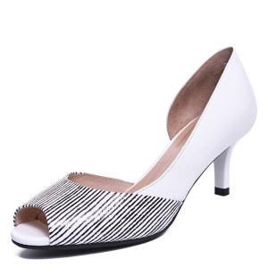 <span class=H>金利来</span><span class=H>女鞋</span>  2017春款 高跟皮鞋 7137015012鱼嘴凉鞋7137015202