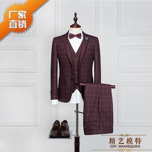 韩版男装半身模特道具服装店展示人体衣架橱窗人台全身假西装拍摄