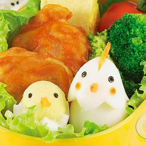 卡通实用 小<span class=H>动物</span>蛋蛋造型器 DIY鸡蛋模具可爱<span class=H>便当盒</span>饭团寿司工具