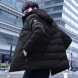 棉衣男士加厚外套冬季2018新款冬装羽绒<span class=H>棉服</span>韩版短款棉袄潮流男装