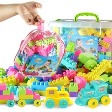 Children's building blocks toys, children's big and small, children's building blocks, puzzle toys, boys and girls, 3 years old and 6 years old