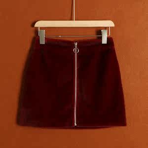 【WT】春秋百搭新款气质半身<span class=H>短裙</span>女品牌裙子专柜正品 清仓处理