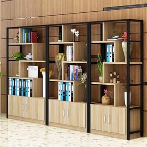 公司木质办公室书架资料架储存装饰品档案柜档案展示隔断架分类