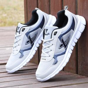男鞋春季透气网鞋运动鞋男士网面鞋韩版潮流学生板鞋防臭跑步鞋7