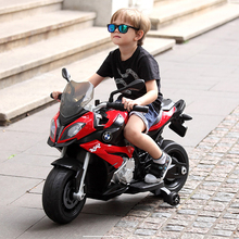 RASTAR Star Fair Children's Four-Wheeled BMW Electric Motorcycle Can Ride Children's Car 3-6 Years Old Toys