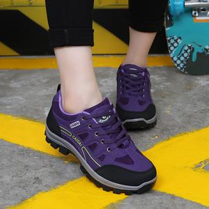 新款登山鞋秋冬户外女徒步鞋防滑耐磨旅游鞋爬山运动防水轻便女鞋