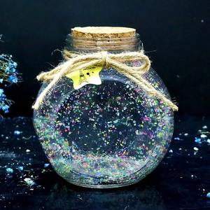 星星瓶子大号玻璃瓶夜光520生日创意送男友幸运星折纸条手工