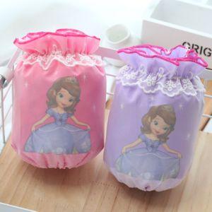 1-3-10岁冬宝宝<span class=H>袖套</span>婴幼儿童韩短款可爱公主蕾丝女童小孩防水套袖