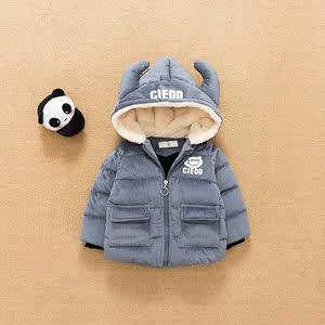 男女宝宝冬装羽绒棉服外套0-1-2-3岁4婴儿韩国反季儿童男童棉衣潮