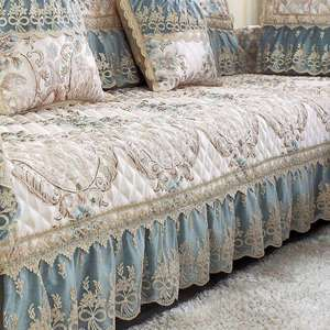 沙发罩套沙发垫布艺居家个性家居新款款式办公长方形扶手巾舒适