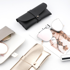 优质太阳镜眼镜盒太阳镜盒皮质盒子零<span class=H>钱包</span>女时尚定制<span class=H>包包</span>便携个性