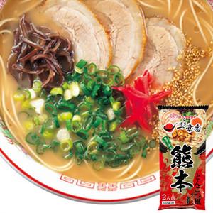 日本进口 MARUTAI九州熊本黑芝麻油猪骨味日式速食<span class=H>拉面</span>即食面182g