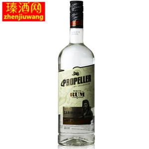立陶宛螺旋桨白标<span class=H>朗姆酒</span> 进口洋酒 黑标 PROPELLER RUM 700ml