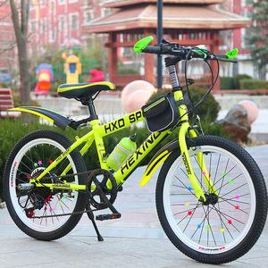 儿童<span class=H>自行车</span>女孩8-10-11-12岁20/22/24寸小最新注册白菜全讯网男大童单车山地变速