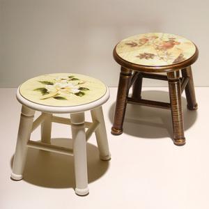 实木小凳子家用创意<span class=H>矮凳</span>儿童卡通可爱ins北欧简约现代小板凳客厅