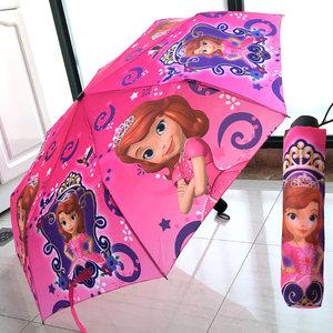 男女儿童折叠晴雨伞两用超轻防紫外线卡通遮阳防晒太阳伞小孩学生