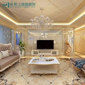 成都室内套房别墅全屋二三居室欧式风格装修设计效果图<span class=H>家装</span>公司