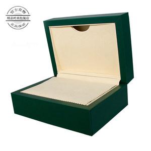 特价绿色原装表盒pu高级产品皮盒定制 <span class=H>手表</span>保护盒子全套送礼包装