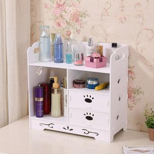 梳妆台化妆品<span class=H>收纳盒</span>收纳架整理架浴室防水置物架家用桌面简约欧式