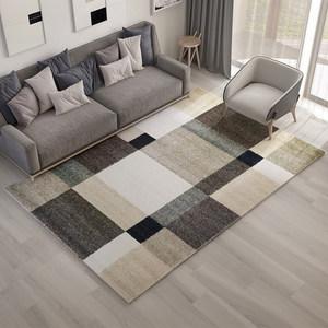 北欧简约风格<span class=H>地毯</span>客厅现代几何沙发茶几垫卧室床边家用<span class=H>地毯</span>长方形