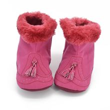 Baby Girls Soft Warm Snow Boots Toddler Infant Crib Shoes Pr
