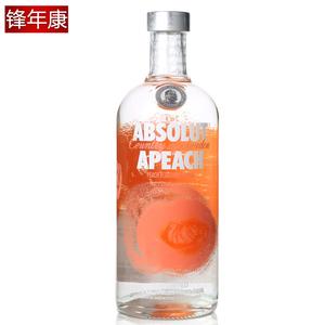 瑞典<span class=H>伏特加</span>蜜桃味 蜜桃<span class=H>伏特加</span>Absolut apeach VODKA洋酒750ml
