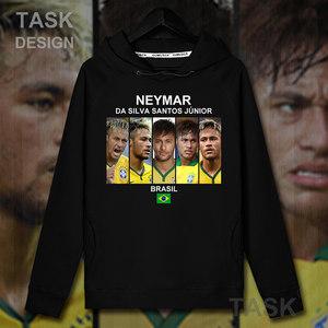 内马尔Neymar巴黎<span class=H>情侣装</span>连帽卫衣男巴西秋冬加绒学生外套帽衫潮20