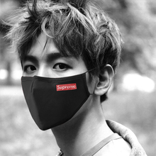 Mask Tide Summer Men and Women Black Fashion Net Red Personality Star Dust-proof, Fog-proof, Air-permeable and Sunscreen Pure Cotton