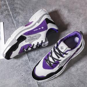 <span class=H>男鞋</span>春季新款ins超火的鞋子男韩版潮流运动增高小白老爹鞋子男