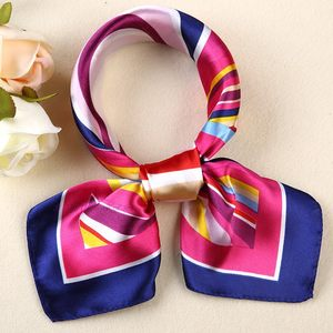 中国移动公司专用营业厅服务员新款丝巾职业女工作方巾围脖领花