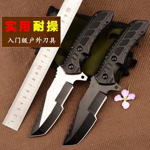 多功能户外<span class=H>刀具</span>防身狩猎荒野外求生存便携特战一体军工刀军刀直刀