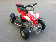 49CC Motorcycle Two-Stroke Motorcycle Four-Wheeled Motorcycle Mini Beach Vehicle Mini 2-Stroke Off-road Vehicle